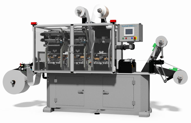 Newfoil 5500 Hot Stamping Machine, Laminating and Die-Cutting Press