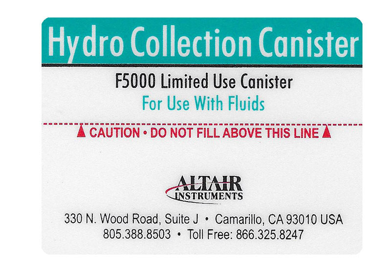 White Mylar® Label